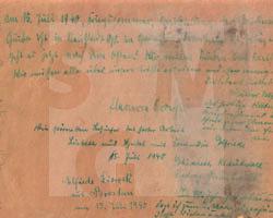 Briefumschlag aus Ober-Hannsdorf, SMG 2004/0983