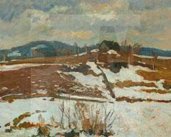 Nickisch, Ölgemälde, Landschaft, SMG 2001/1656, Kauf