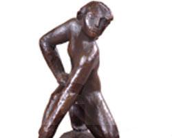 Bednorz, Bronzeplastik