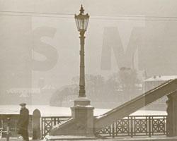 Winter in Breslau: Wintertag an der Dom-Insel, undatiert, Foto: Karl Franz Klose (1897 – 1984)