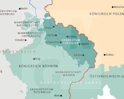 Karte: frühe Habsburgerzeit