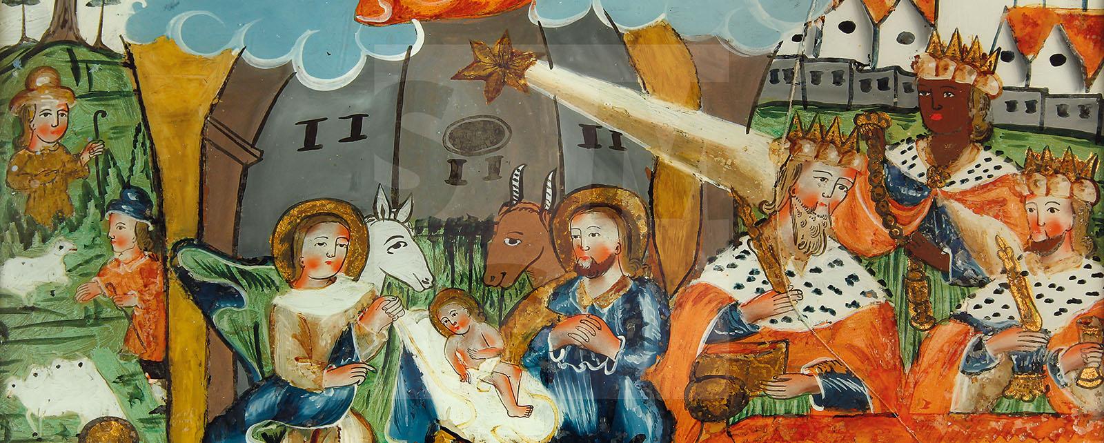 Hauptbild Hinterglasmalerei
