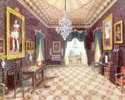 Wallensteinzimmer Schloss Sagan (Gemälde)