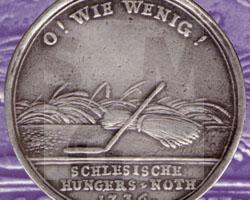 Schlesische Hungersnot (Medaille)