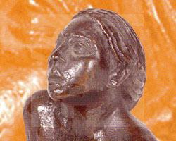 Singendes Mädchen (Skulptur)