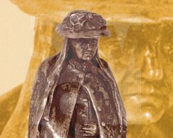 Frau mit Schirm (Skulptur)