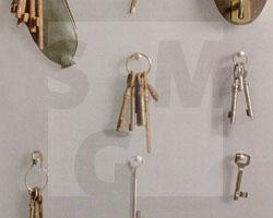 Hausschlüssel von Vertriebenen