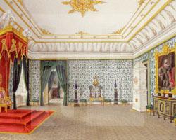 Thronsaal Schloss Sagan (Gemälde)