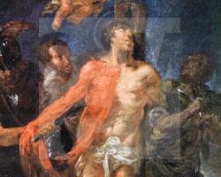 Willmann: Häutung des Hl. Bartholomäus