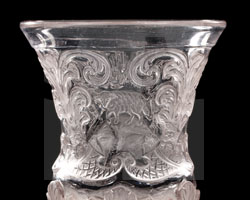 Winter-Pokal mit Lamm Gottes