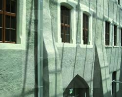 Rückwärtige Fassade
