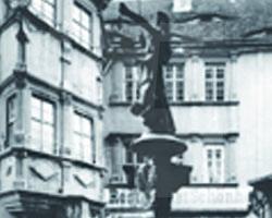 Im Gasthaus Schönhof um 1900
