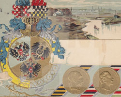 Postkarte Dreikaisereck