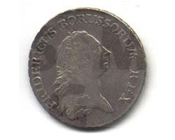 Reichstaler Friedrich II, 1770, SMG 2002/0774