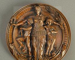 Ehrenpreismedaille der Schlesischen Gewerbe- und Industrieausstellung
