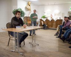 Academia Silesia 2019, Lesung mit Matthias Nawrat, Fot. Haus Schlesien
