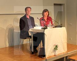 Autorengespräch mit Hans Pleschinski am 14.09.2018, Fot. Arkadiusz Kucharski