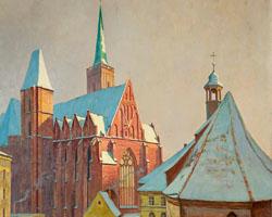 Kreuzkirche u. St. Martin [Breslau], 1941