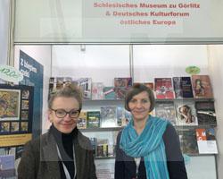 Breslauer Buchmesse 2019 mit Magdalena Gebala vom Deutschen Kulturforum östliches Europa Fot. SMG