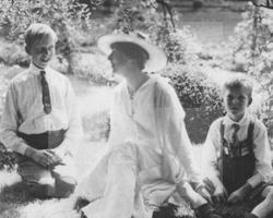 Daisy mit ihren Söhnen, Fot. Zamek Książ