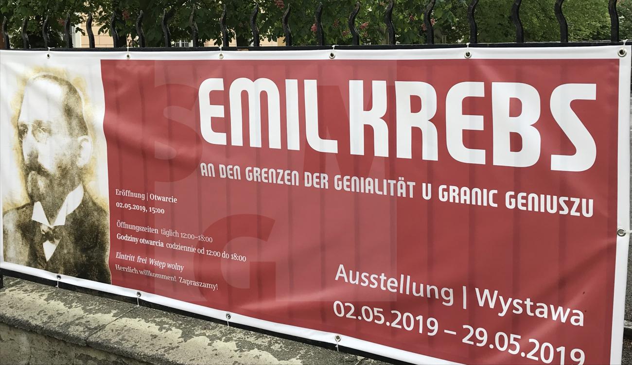 Hauptbild Ausstellung Emil Krebs