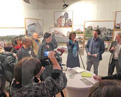 Eröffnung der Ausstellung UNHEIMISCH am 6.02.2020, Fot. Piotr J. Ferenski