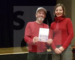 Eröffnung der Programms Breslau im Kino, mit Mariusz Tokarczyk im Kino Poza Nova in Zgorzelec am 7.11.2019