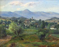 Ansicht von Fischbach, um 1850