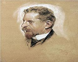 Fritz Erlers Portraet