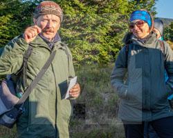 Mit Andrzej Paczos im Riesengebirge, Herbstwanderung am 12.10.2019, Fot. Axel Lange
