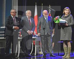 Preisverleihung der Euroregion Neisse an das Schlesische Museum zu Görlitz am 22.11.2019, Fot. Renata Burdosz
