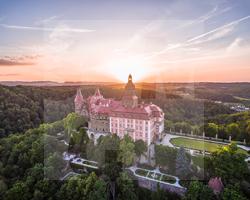 Schloss Fürstenstein, Fot. Zamek Książ