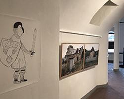 Unheimisch - Ausstellung in der Galerie Brüderstraße, 6.02-9.07.2020, Fot. ABormann (1)
