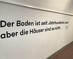 Unheimisch - Ausstellung in der Galerie Brüderstraße, 6.02-9.07.2020, Fot. ABormann (2)