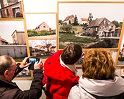 Unheimisch - Ausstellung in der Galerie Brüderstraße, Vernissage am 6.02.2020, Fot. Jakub Purej (10)