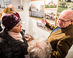 Unheimisch - Ausstellung in der Galerie Brüderstraße, Vernissage am 6.02.2020, Fot. Jakub Purej (13)