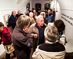 Unheimisch - Ausstellung in der Galerie Brüderstraße, Vernissage am 6.02.2020, Fot. Jakub Purej (15)