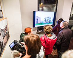 Unheimisch - Ausstellung in der Galerie Brüderstraße, Vernissage am 6.02.2020, Fot. Jakub Purej (1)