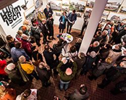 Unheimisch - Ausstellung in der Galerie Brüderstraße, Vernissage am 6.02.2020, Fot. Jakub Purej (2)