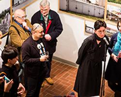 Unheimisch - Ausstellung in der Galerie Brüderstraße, Vernissage am 6.02.2020, Fot. Jakub Purej (6)