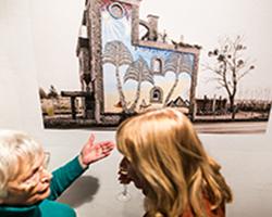 Unheimisch - Ausstellung in der Galerie Brüderstraße, Vernissage am 6.02.2020, Fot. Jakub Purej (8)