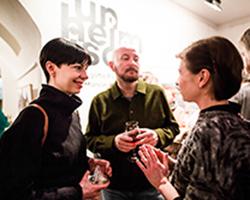 Unheimisch - Ausstellung in der Galerie Brüderstraße, Vernissage am 6.02.2020, Fot. Jakub Purej (9)