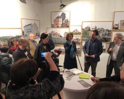 Unheimisch - Ausstellung in der Galerie Brüderstraße, Vernissage am 6.02.2020, Fot. Piotr J. Ferenski