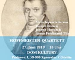 Plakat für das Joseph-Elsner-Konzert in Zgorzelec