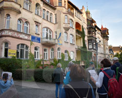 Auf den Spuren von Andreas Ernst in Glatz am 21.09.2019, Fot. Andrzej Paczos (1)
