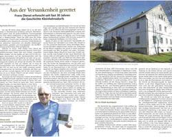 Aus der Versunkenheit gerettet - Text über Franz Dienst in Schlesien heute 8_2018