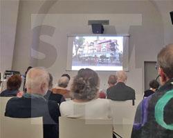 Vortrag von Joanna Jakubowicz über Andreas Ernst im SMG am 11.10.2019, Fot. Axel Lange
