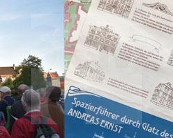 Gruppe aus Görlitz mit dem Spazierführer durch Glatz des Andreas Ernst am 21.09.2019, Fot. Andrzej Paczos