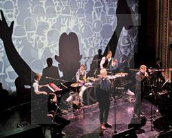 Literaturtage 2016 - Eröffnung mit der Kafka Band, Fot. Axel Lange