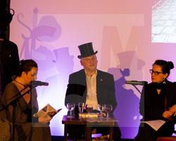 Literaturtage 2016 - Krimiabend mit Nadja Szagdaj, Paulina Schulz und Thomas Maruck, Fot. Axel Lange